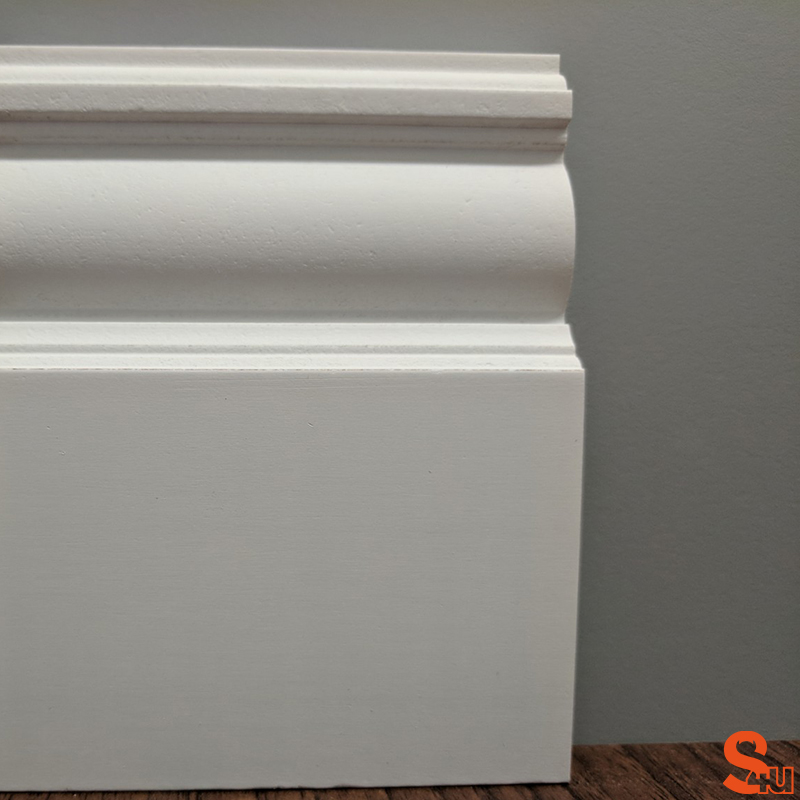 Edwardian Skirting Board Primed