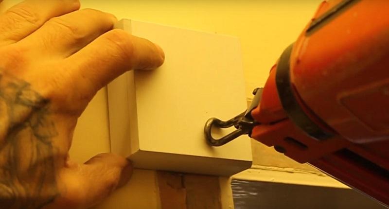 fixing rosette