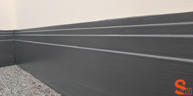 Stepped Skirting Board Modern