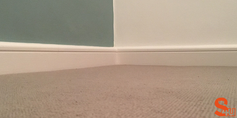 Bullnose Groove skirting board