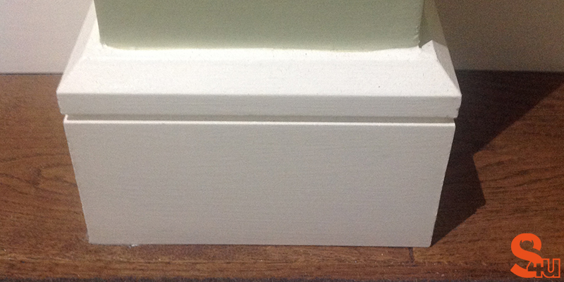 modern edge groove skirting board