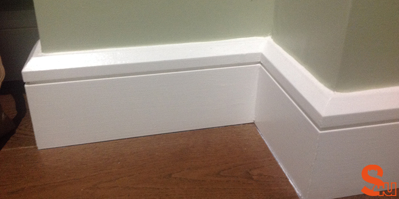 edge groove modern skirting board