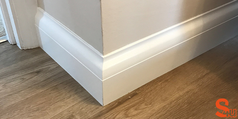 Asmara 5 modern skirting board