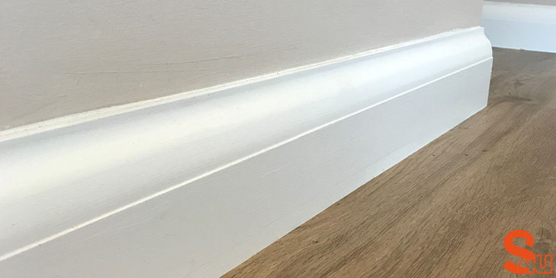 Asmara 5 contemporary skirting board