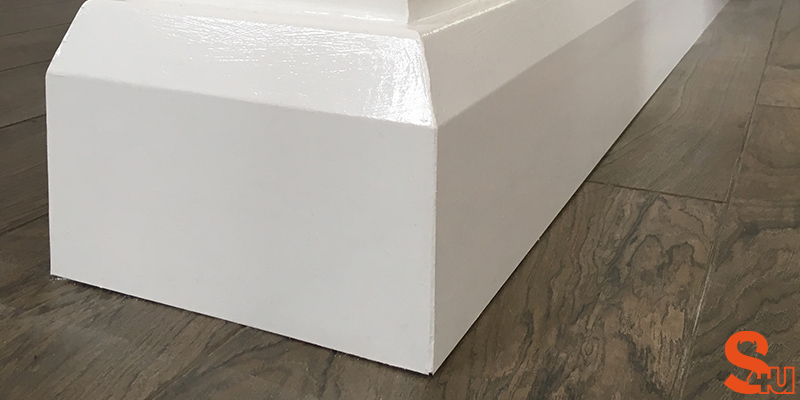 modern skirting boards edge