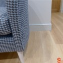 Square Groove MDF Skirting Board