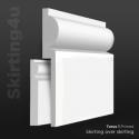 Torus MDF Skirting Board Cover (Skirting Over Skirting)