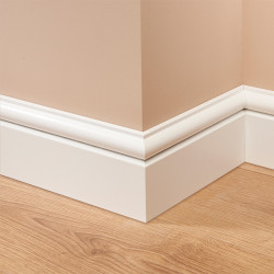 Torus 1 MDF Skirting Board