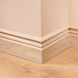 Victorian Oak Skirting Board