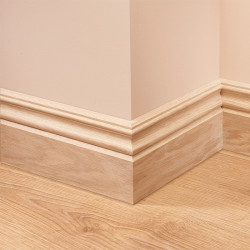 Victorian 2 Oak Skirting Board