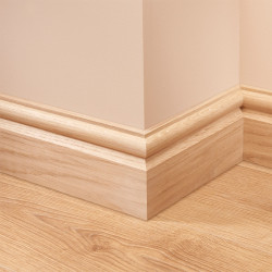 Torus 2 Oak Skirting Board