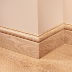 Torus 1 Oak Skirting Board