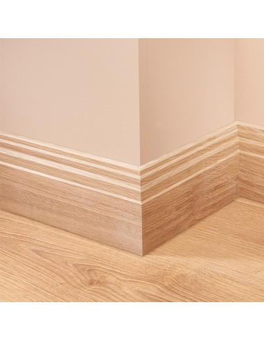 Stepped Oak Skirting Board