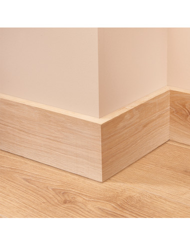 Square Oak Skirting Board
