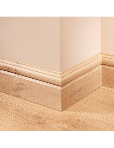 Skirt4u 324 Oak Skirting Board