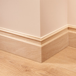Ripple Oak Skirting Board