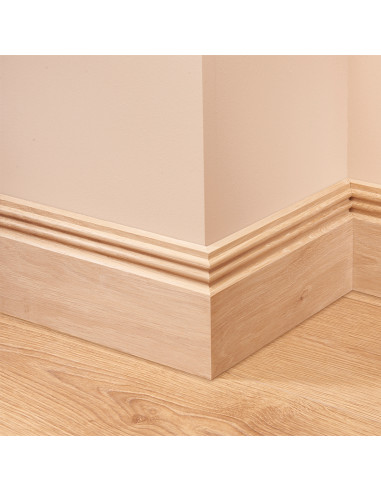 Ripple 2 Oak Skirting Board