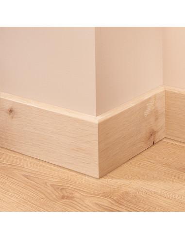 Mini Bullnose Oak Skirting Board