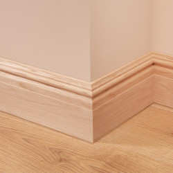 Georgian Oak Skirting Board