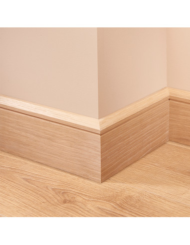 Edge Groove Oak Skirting Board
