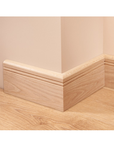 Bullnose Groove 2 Oak Skirting Board