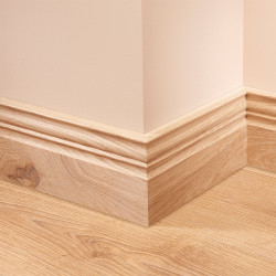 Asmara 3 Oak Skirting Board