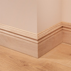 Asmara 4 Oak Skirting Board