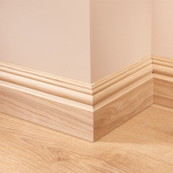 Antique 2 Oak Skirting Board