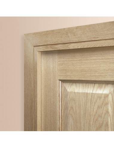 Square Groove Oak Architrave