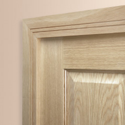 Square Groove 2 Oak Architrave