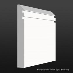 Edge Groove Skirting SAMPLE