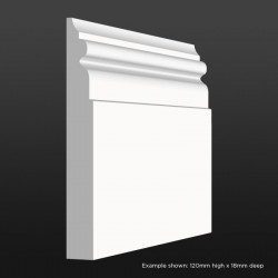 Georgian Skirting SAMPLE