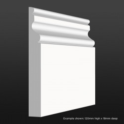 Ogee 2 Skirting SAMPLE