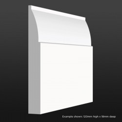 Ovolo Skirting SAMPLE