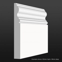 Bullnose Skirting SAMPLE