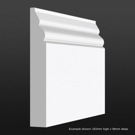 Mini Bullnose Skirting SAMPLE