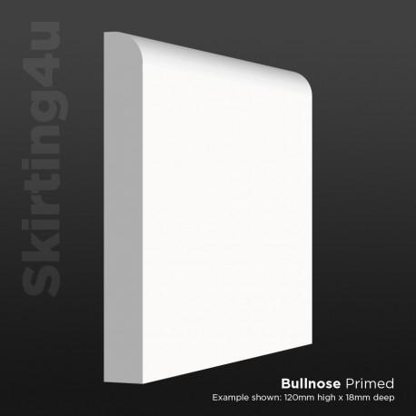 Bullnose MDF Skirting Board