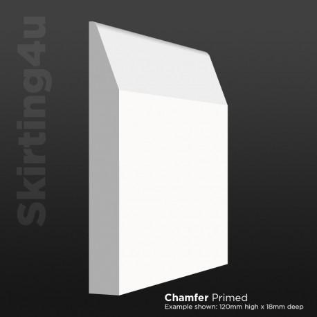 Chamfer MDF Skirting Board