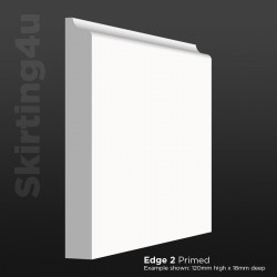Edge 2 MDF Skirting Board