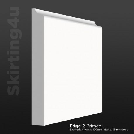Edge 2 MDF Skirting Board