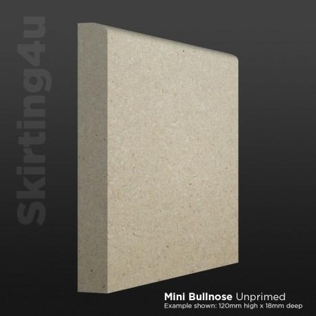 Mini Bullnose MDF Skirting Board
