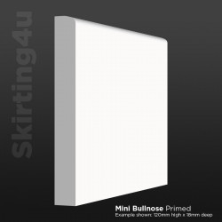 Mini Bullnose MDF Skirting Board