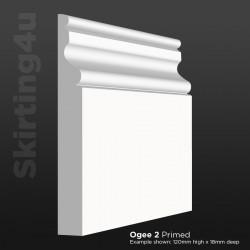Ogee 2 MDF Skirting Board