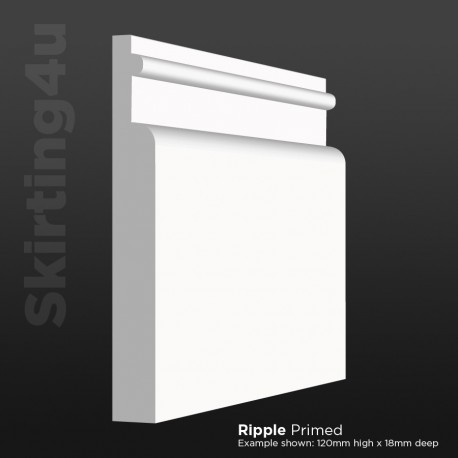 Ripple MDF Skirting Board