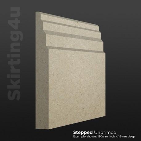 Stepped MDF Skirting Board