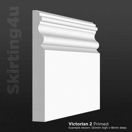 Victorian 2 MDF Skirting Board