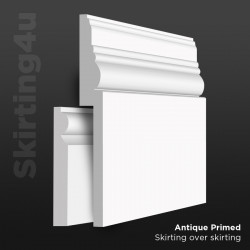 Antique MDF Skirting Board Cover (Skirting Over Skirting)