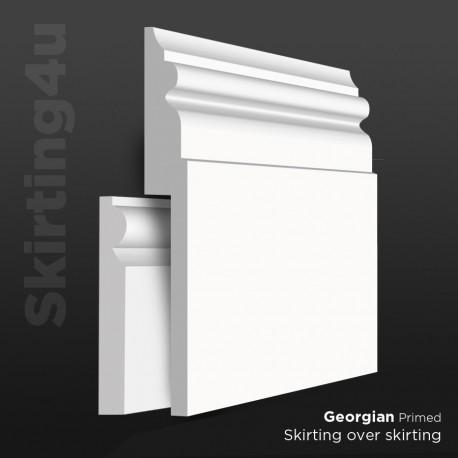 Georgian MDF Skirting Board Cover (Skirting Over Skirting)