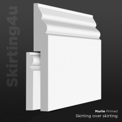 Marlie MDF Skirting Board Cover (Skirting Over Skirting)
