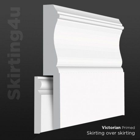 Windsor MDF Skirting Board Cover (Skirting Over Skirting)